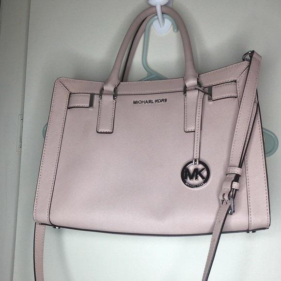 Michael Kors Handbags - Baby pink handbag